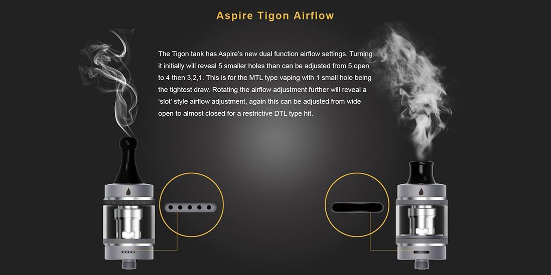 Aspire Tigon Airflow