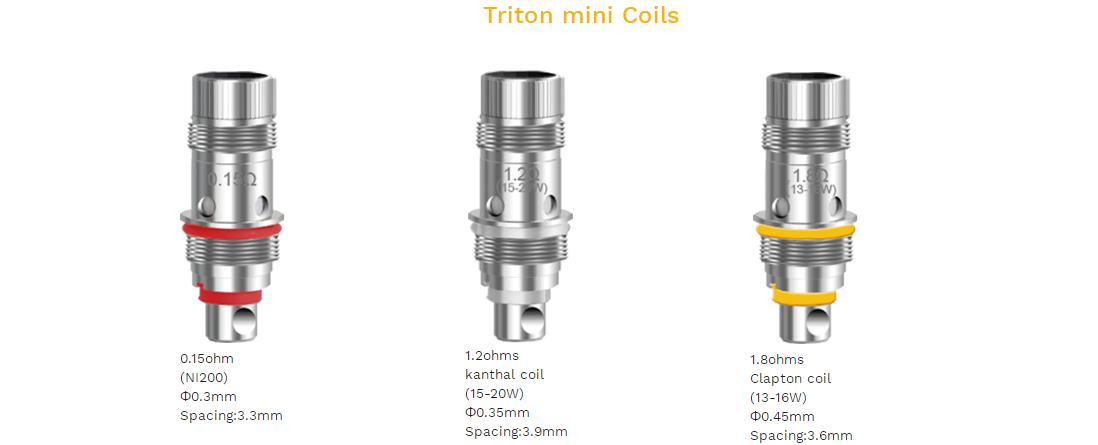 Aspire Triton Mini Tank features