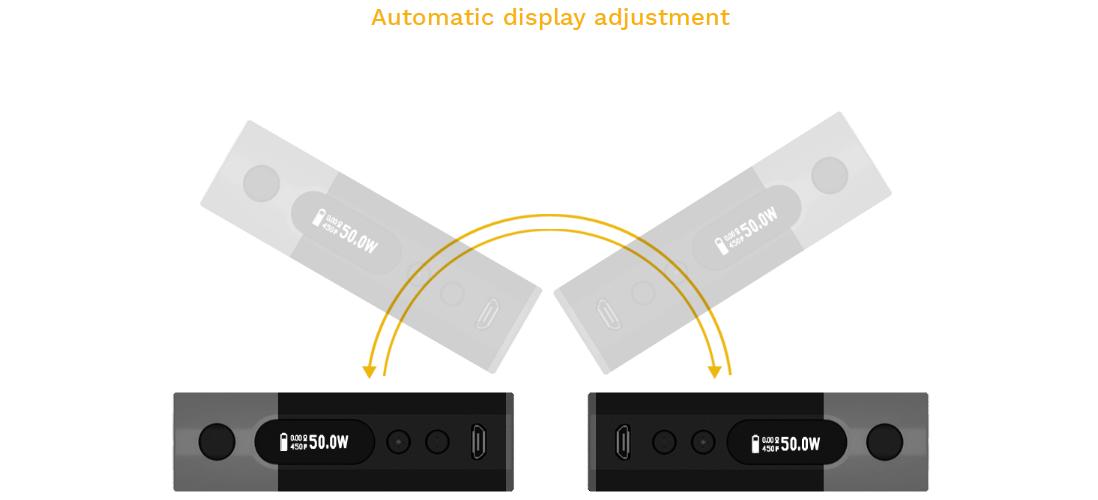 Aspire Zelos 50W Mod features