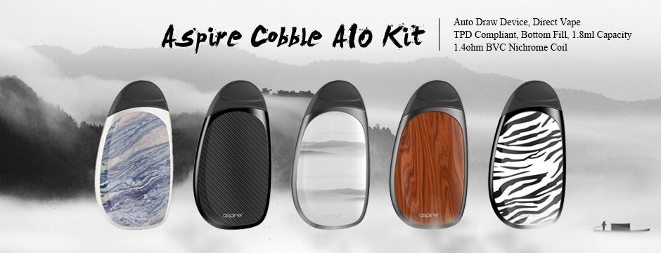 Aspire Cobble AIO Kit 1.8ml 700mAh
