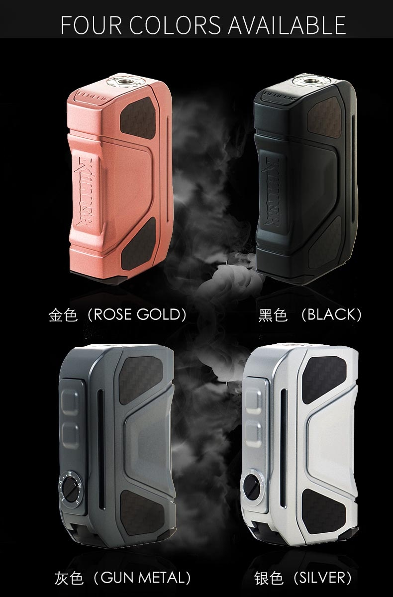 Benecig Killer 260W Mech Mod Colors