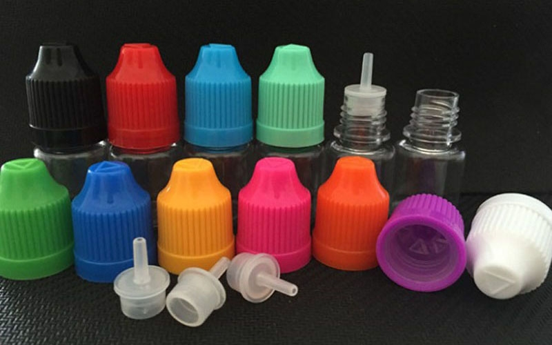E-Juice Bottle PET Material with Pressure Cap 1