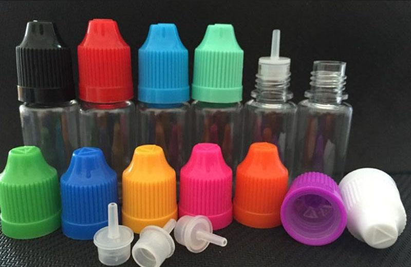E-Juice Bottle PET Material with Pressure Cap 3