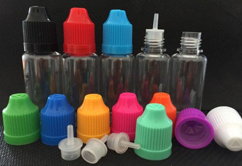 E-Juice Bottle PET Material with Pressure Cap 4