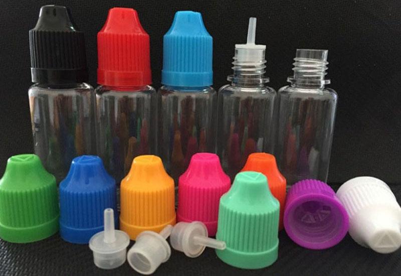 E-Juice Bottle PET Material with Pressure Cap 5