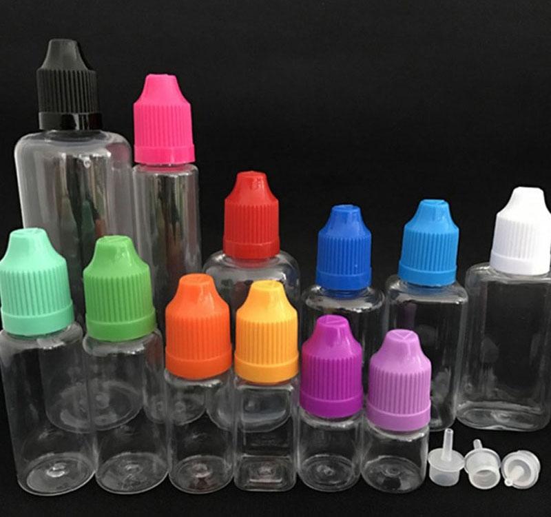 E-Juice Bottle PET Material with Pressure Cap 7