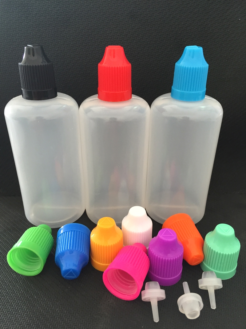 LDPE E-Juice Bottle with Pressure Cap 4