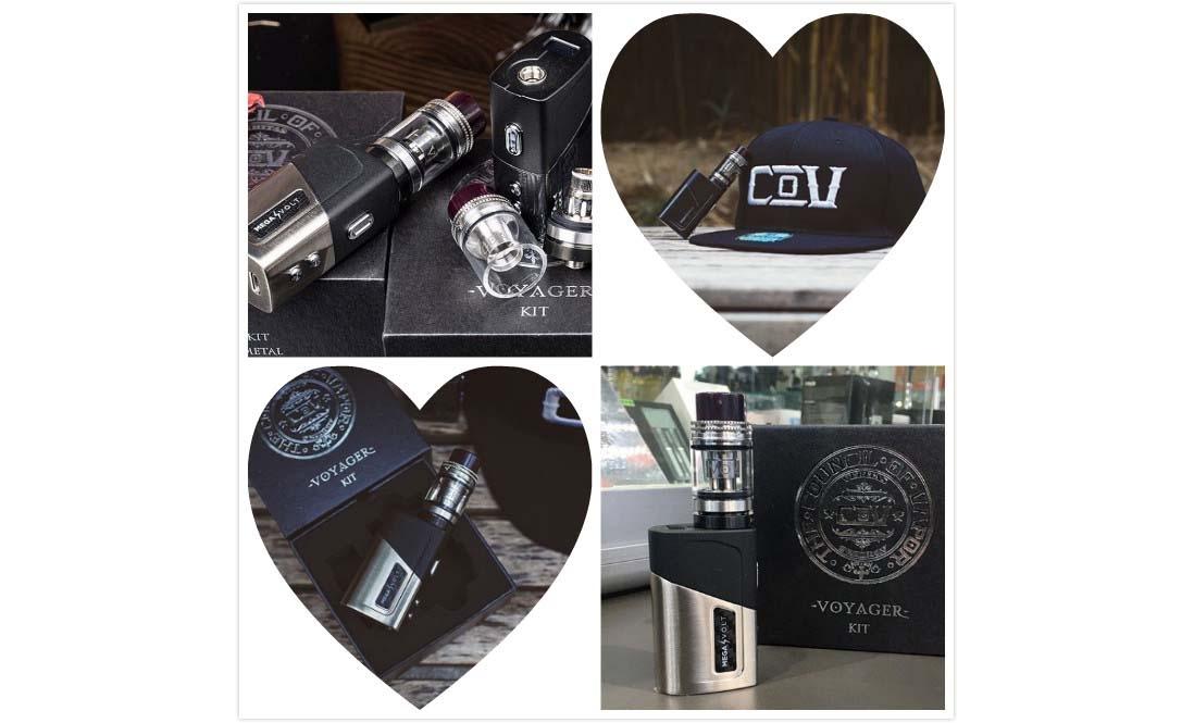 COV Voyager 80W Kit Real Shot