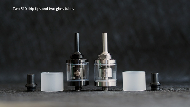 Cthulhu MOD Hastur MTL RTA Mini 510 Drip Tip Glass Tube