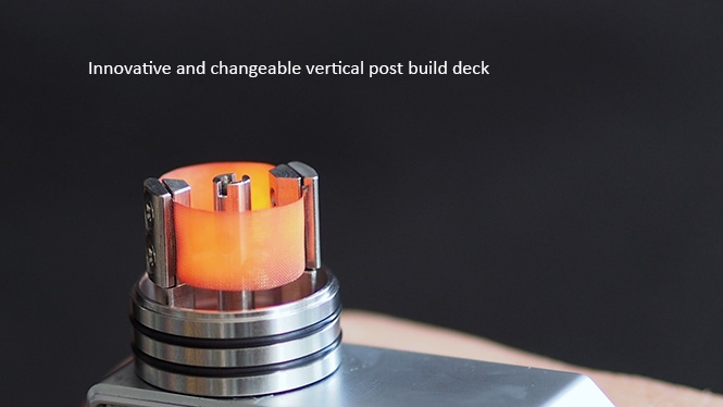 Cthulhu MOD Iris Mesh BF RDA 24mm Build Deck