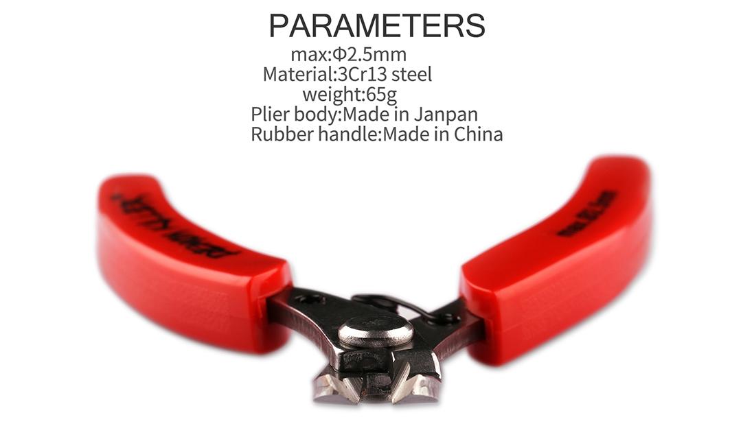 Demon Killer Cutter Pliers Parameter