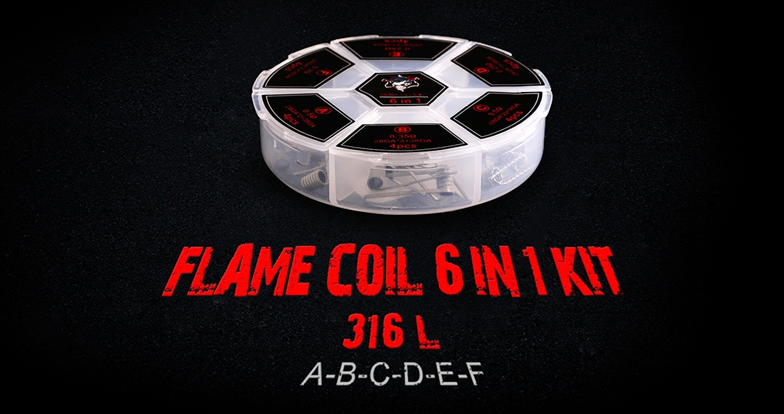 Demon Killer Flame Coil 6 In 1 Kit 316L