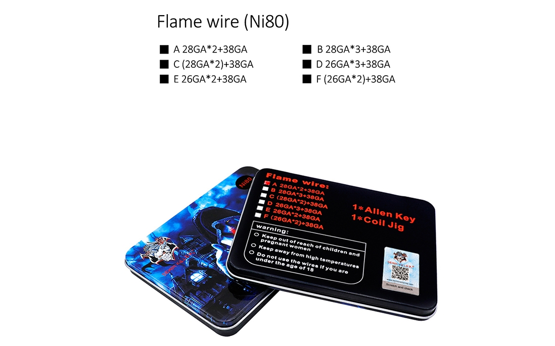 Demon Killer Ni80 Flame Wire Features