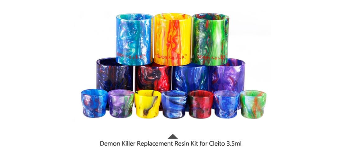 Demon Killer Replacement Resin Kit For Cleito 3.5ml