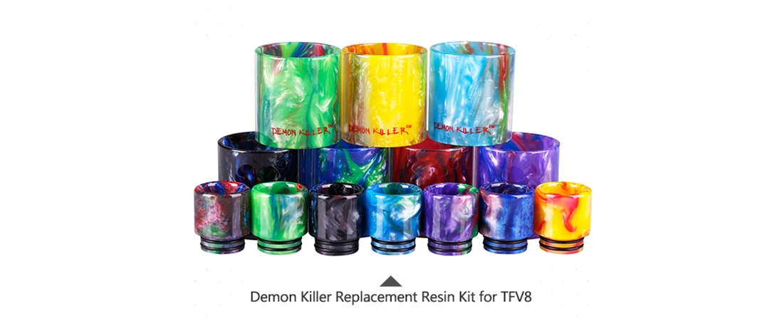 Demon Killer Replacement Resin Kit For TFV8