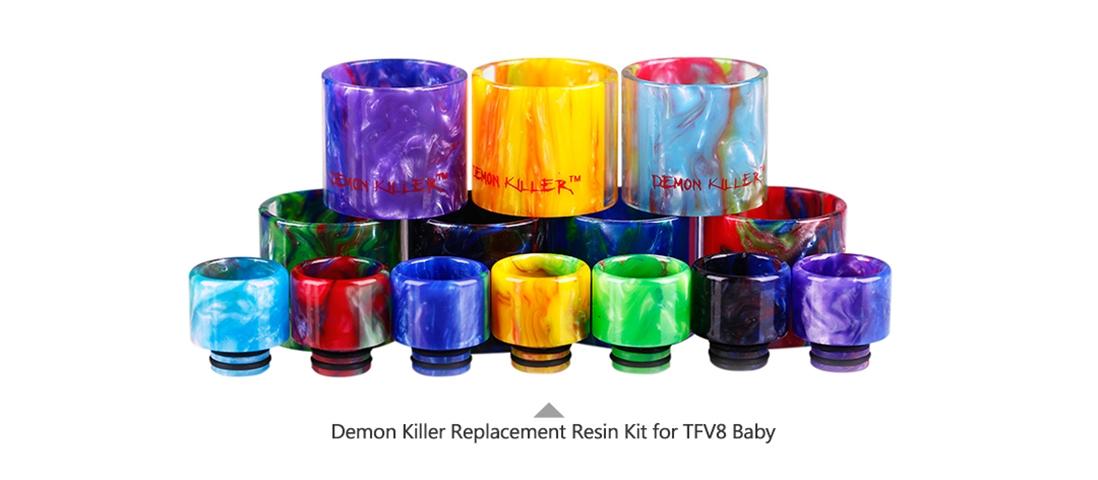 Demon Killer Replacement Resin Kit For TFV8 Baby