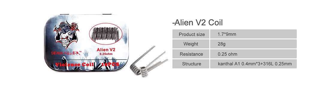 Demon Killer Violence Coil for Alien V2 Parameter