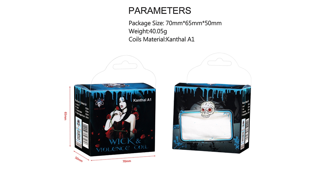Demon Killer Wick & Violence Coil Parameter