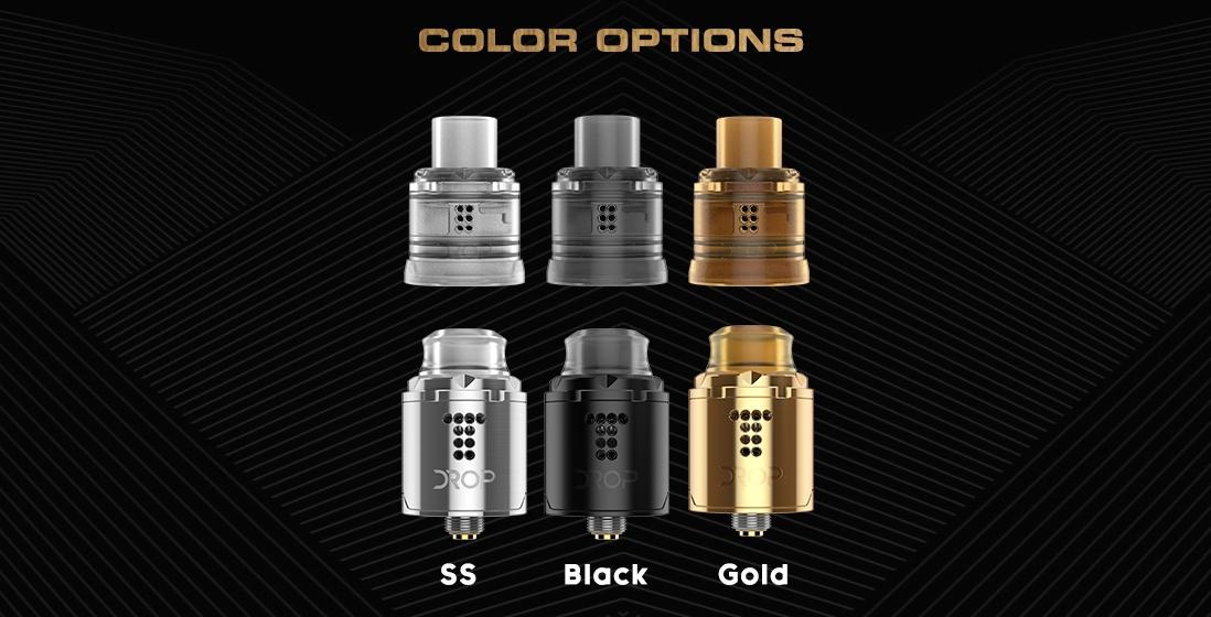 Digiflavor Drop Solo RDA Atomizer Colors
