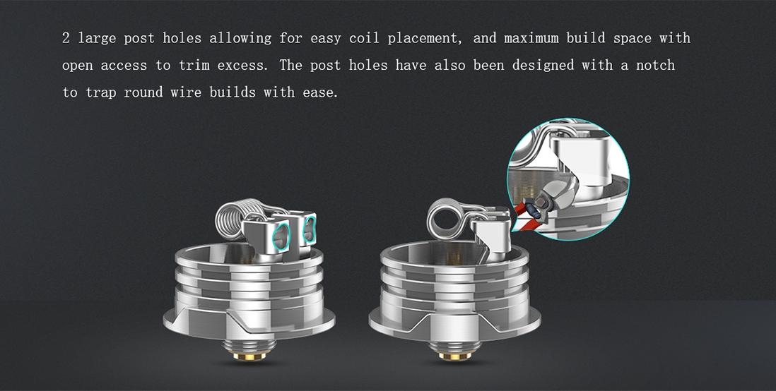 Digiflavor Drop Solo RDA Atomizer Features