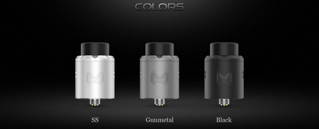 Digiflavor Mesh Pro RDA Rebuildable Atomizer Colors