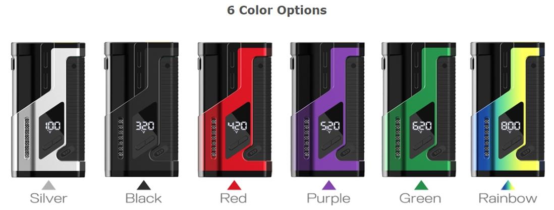 Dovpo VEE VV Box Mod Colors