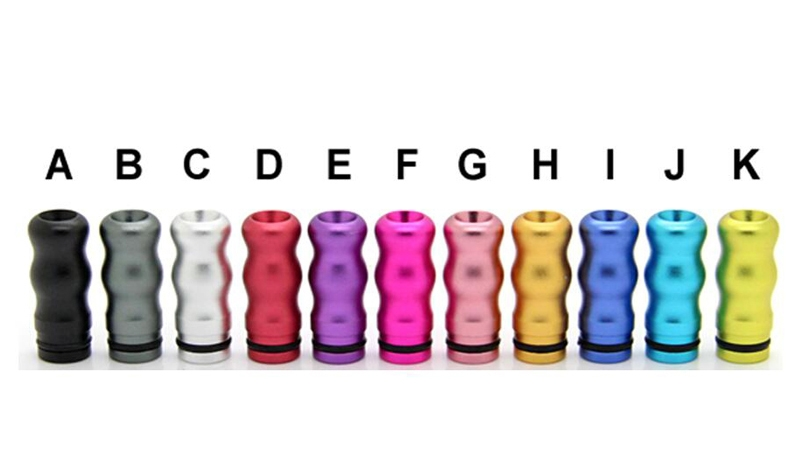 510 Aluminum Twisted Drip Tip