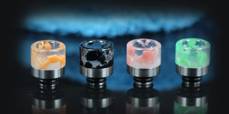 510 Stainless Steel Luminous Resin Drip Tip 2