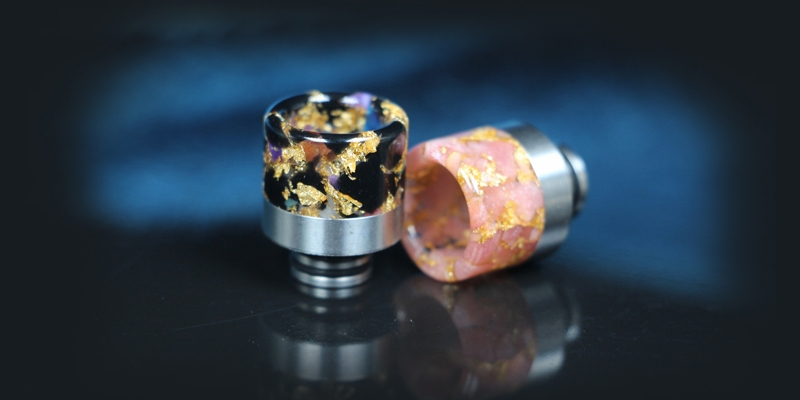 510 Starry Sky Stainless Steel Drip Tip1