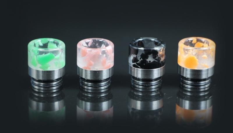 810 Luminous Resin Stainless Steel Drip Tip