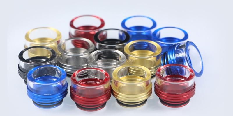 810 Wide Bore Glass Drip Tip
