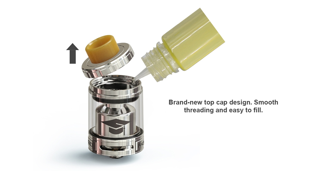 Ehpro Bachelor X RTA Features