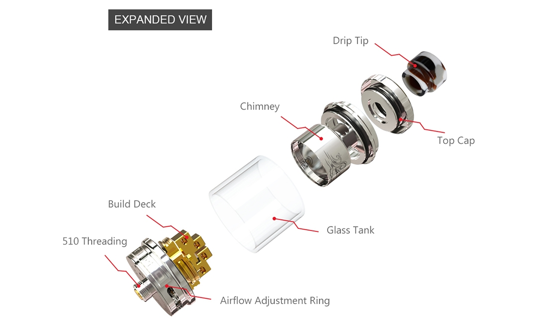 Ehpro Billow X RTA Structure