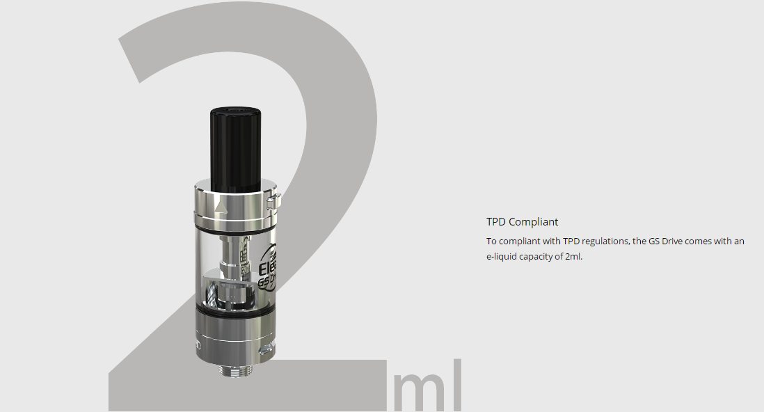 Eleaf GS Drive Atomizer Features 1