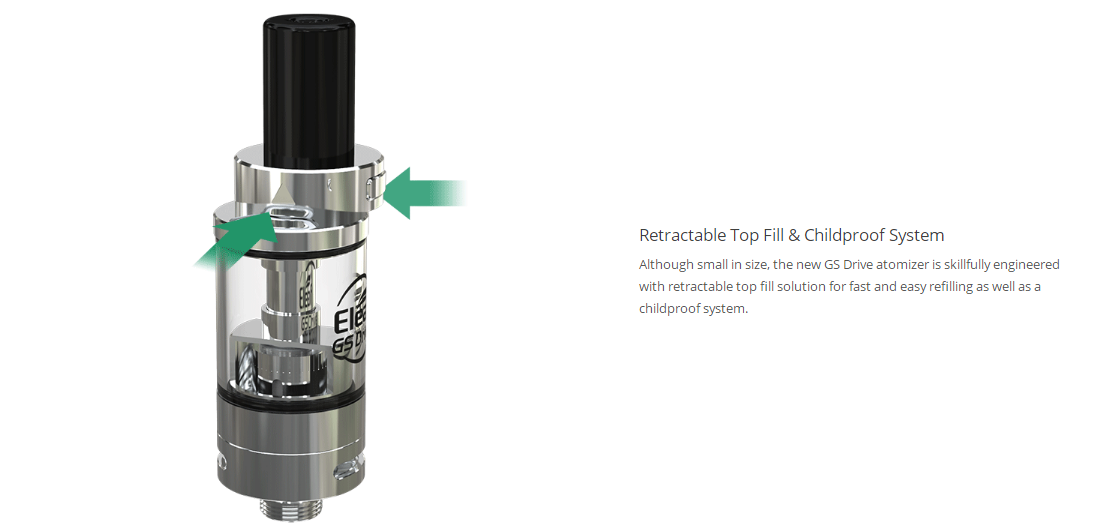 Eleaf GS Drive Atomizer Features 2