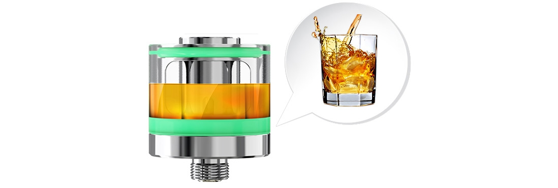 Eleaf LYCHE Atomizer Bottom Cup Design