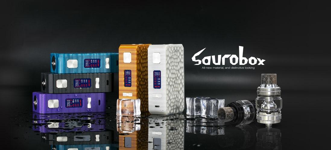 Eleaf Saurobox with ELLO Duro Kit