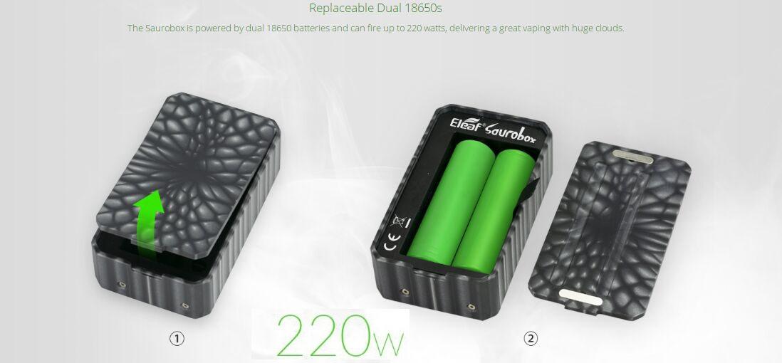 Eleaf Saurobox Kit 2