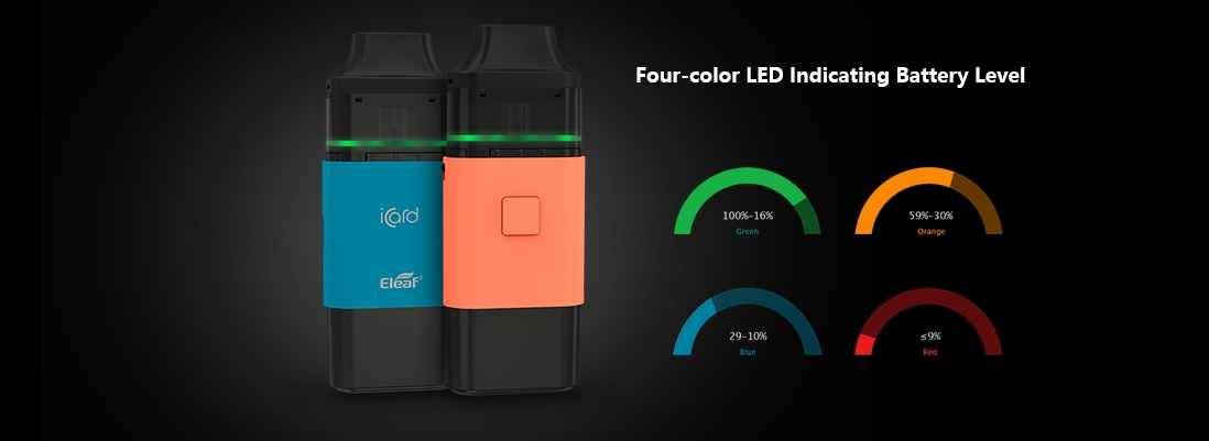 Eleaf iCard All-in-one Starter Kit Main Features 4