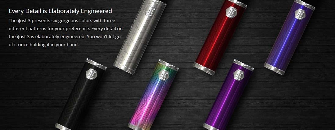 Eleaf iJust 3 Battery 3000mAh Design
