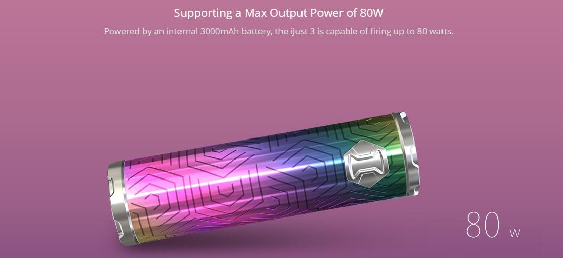 Eleaf iJust 3 Battery 3000mAh Power