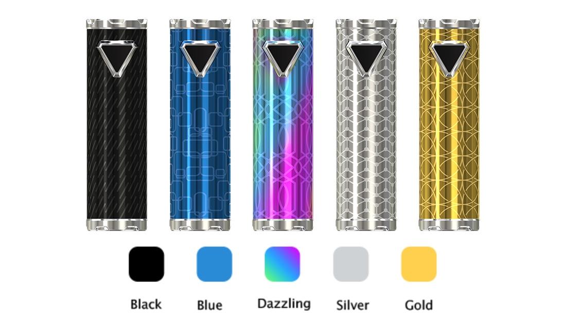 Eleaf iJust ECM Battery Colors
