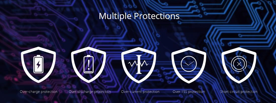 Eleaf iJust ECM Battery Protections
