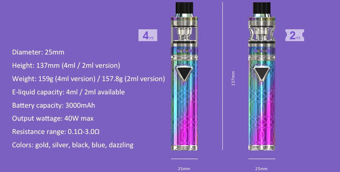 Eleaf iJust ECM Kit Parameter