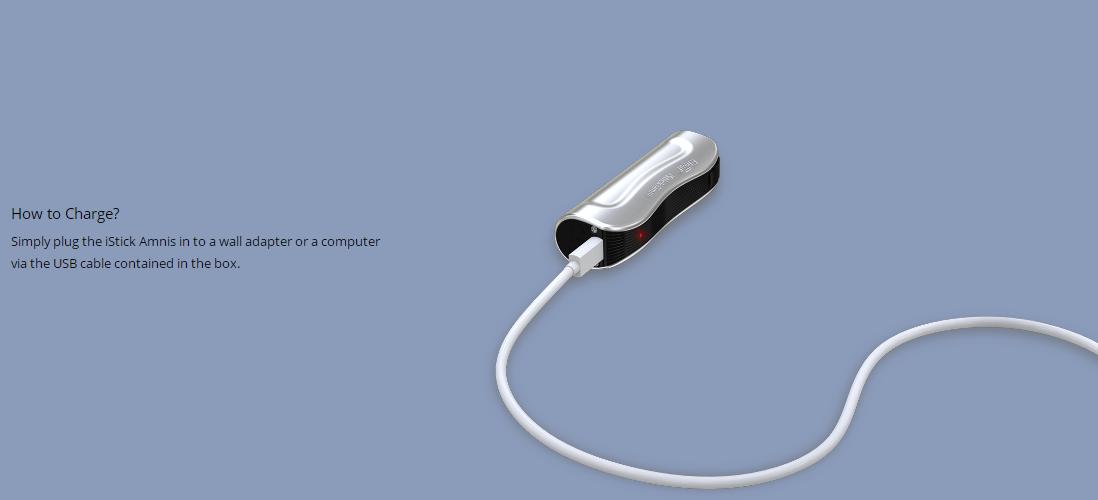 Eleaf iStick Amnis Mod charging