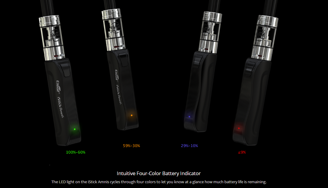 Eleaf iStick Amnis with GS Drive Kit features 3