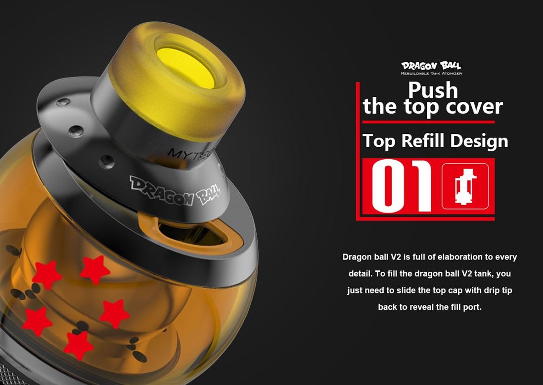 Fumytech Dragon Ball RTA Features