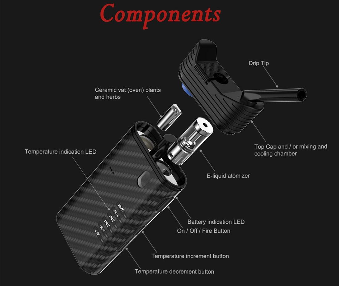 Fumytech Vapomix 2 in 1 Starter Kit Introduction