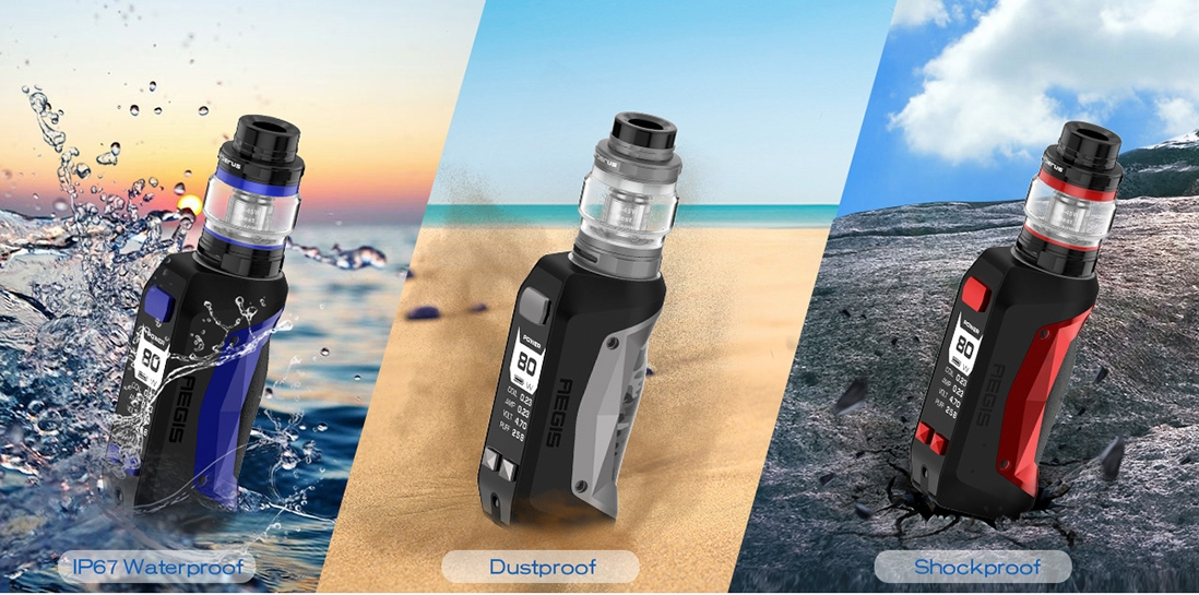 GeekVape Aegis Mini Waterproof Dustproof Shockproof
