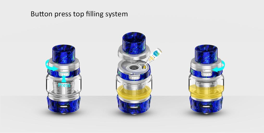 GeekVape Alpha Tank Button Press Top Filling System